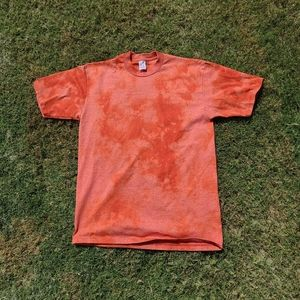 Vintage Custom Bleached 90s Red Blank T Shirt